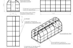 Монтаж каркаса теплицы из поликарбоната