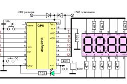 Схема полупроводникового контроллера