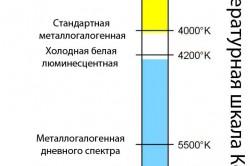 Цветовая температурная шкала Кельвина для растениеводства