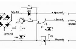 Электрическая схема аккумулятора шуруповерта