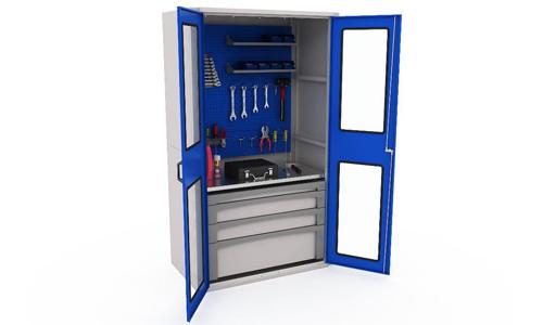 Самодельный шкаф для инструментов