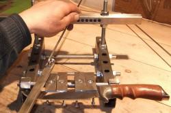 Современные конструкции для заточки ножа