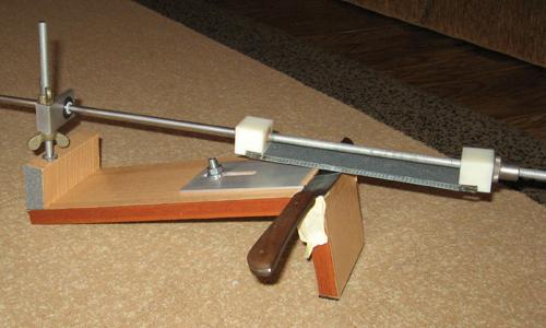 Как сделать приспособление для заточки ножей своими руками чертежи
