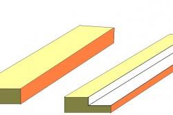 Схема выборки четверти электрорубанком