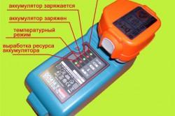 Расшифровка индикаторов зарядного устройства