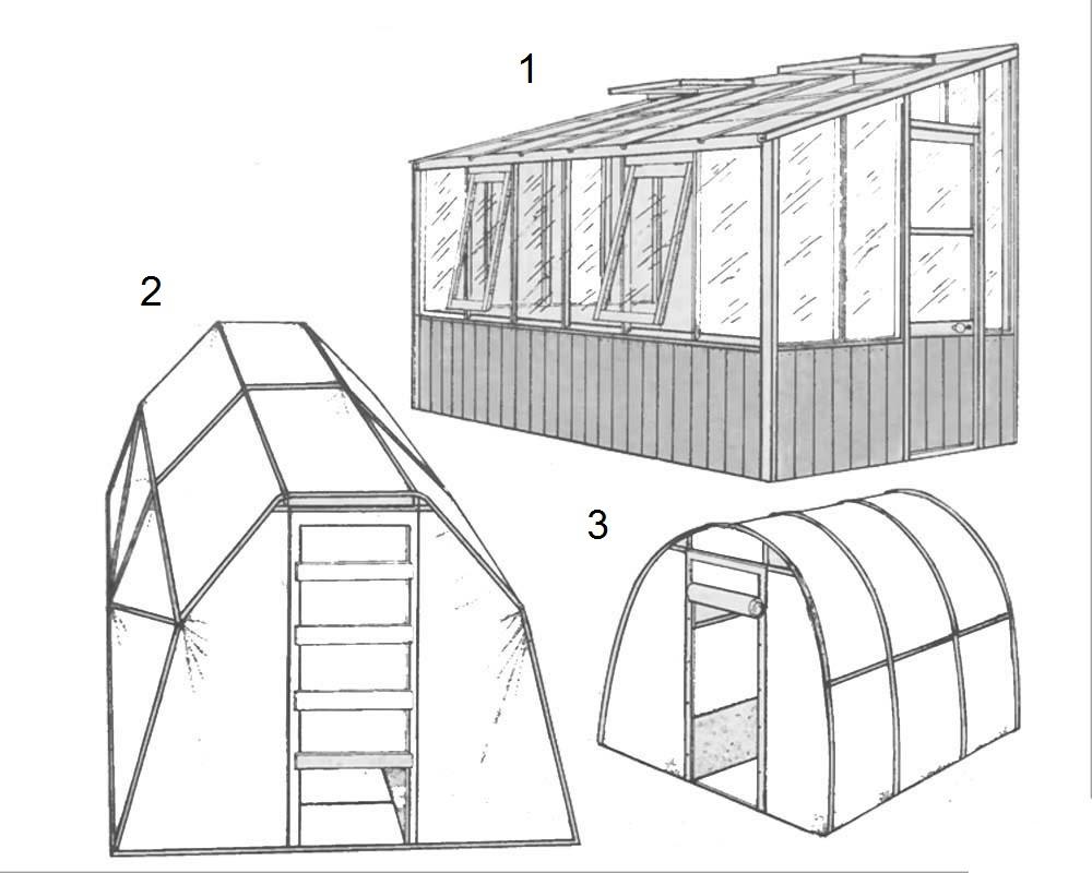Как сделать крышу теплицы фото 798