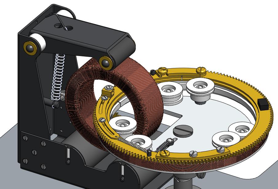 Самодельный станок для намотки тороидальных трансформаторов своими руками 72