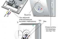 Устройство терморегулятора для теплицы